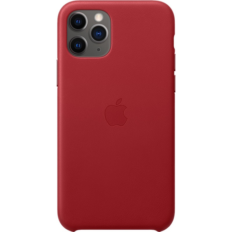 Чехол Apple Leather Case iPhone 11 Pro
