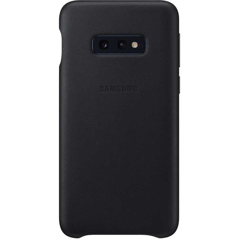 Чехол Samsung Leather Cover (Black) для Galaxy S10e,